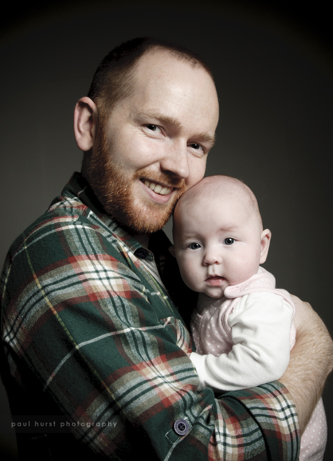 Family Portrait Shoot, Leicester Studio
