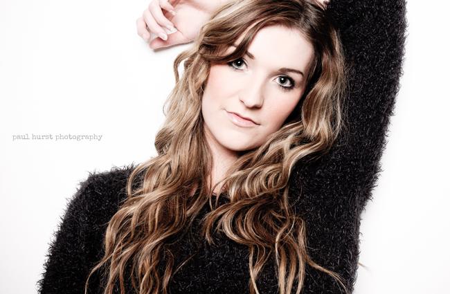 Paul Hurst Photography Studio Portrait  Fashion Model Leicester
