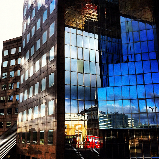 Reflections, Office Buildings, London Tower Bridge