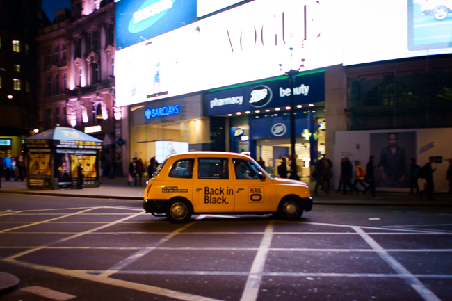London Yellow Taxi