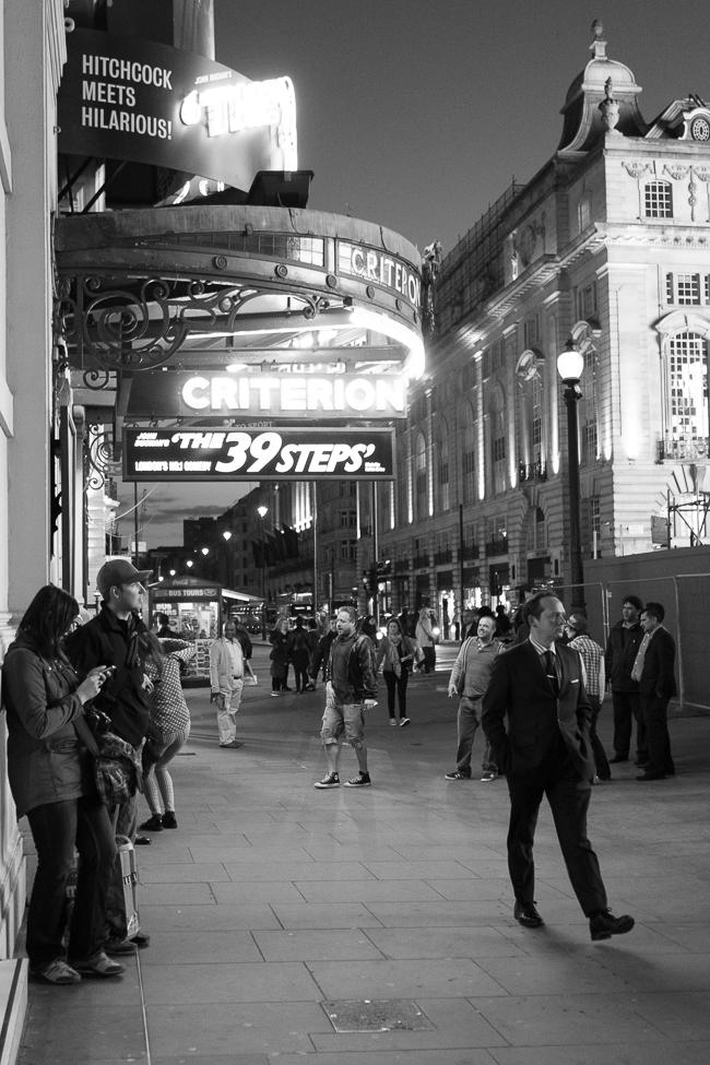 39 Steps, London